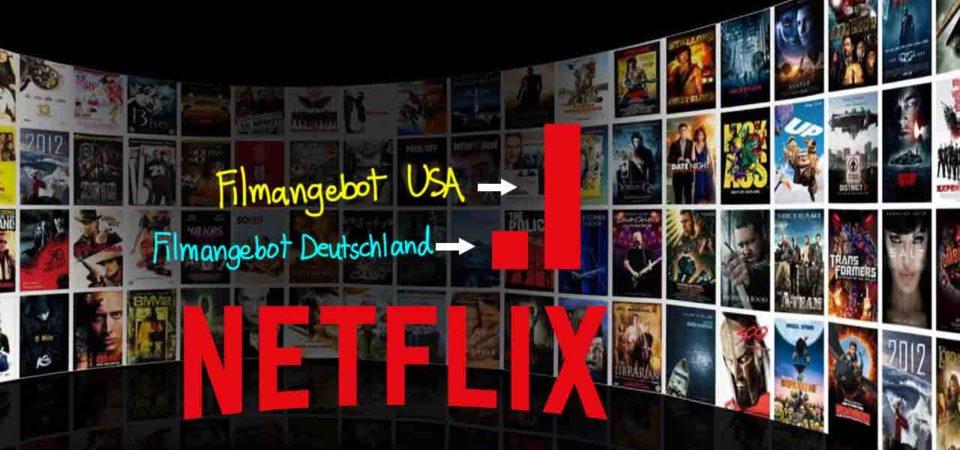 Netflix USA in Deutschland