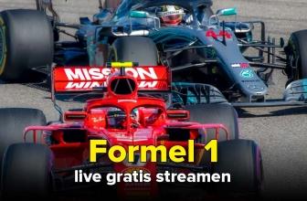 Formel 1 live gratis streamen