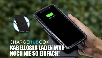 ChargeHubGo+: Kabelloses Laden dank innovativer Technologie