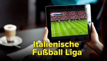 Italienische Fußball Liga: Alle Spiele von überall streamen 2020