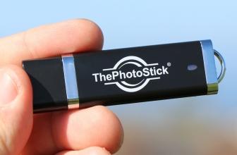 ThePhotoStick – Nur ein Klick, und alle Fotos und Videos sind gespeichert