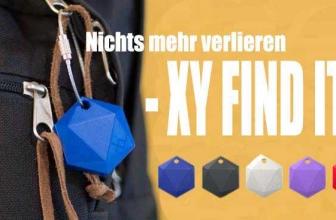 Tracken Sie Gegenstände mit XY Find It